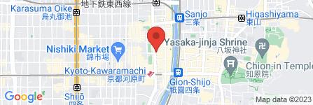 地図 麺匠たか松  KAWARAMACHI