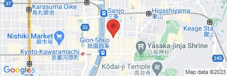 地図 お茶屋 房の家