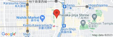 地図 THE・SUIT・COMPANY京都店