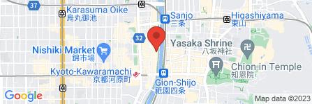 地図 侘家 洛中亭