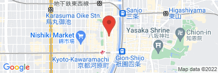 地図 焼肉風風亭 蛸薬師PARTI店