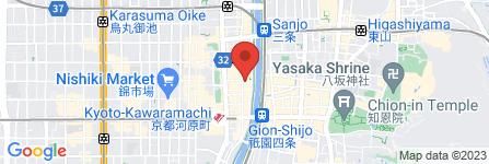 地図 さくらや京都本店