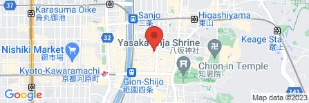地図 夢工房 京都店
