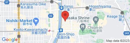 地図 The common one bar kyoto