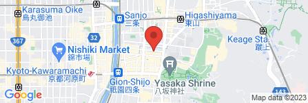 地図 大阪屋古美術店