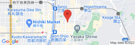 地図 株式会社 八木源かつら