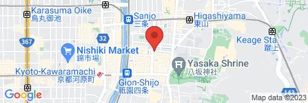 地図 中島古美術店