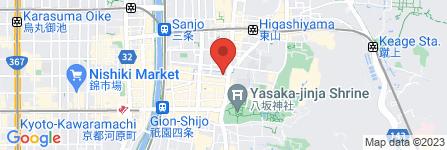 地図 京都美術倶楽部