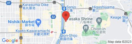 地図 京都祇園シャイニー