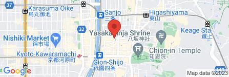 地図 八木美術店