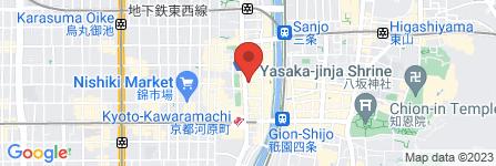 地図 スーパージャンボカラオケ河原町店 プレミアム