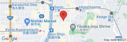 地図 リストランテ245祇園