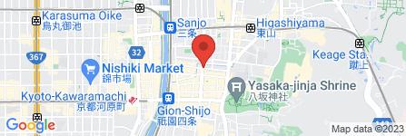 地図 夢桜  着物レンタル専門店