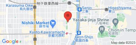 地図 サイゼリヤ 京都河原町通店