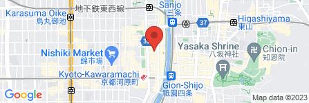 地図 チルコロ京都