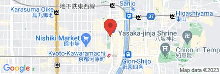 地図 ファミリーマート河原町蛸薬師店