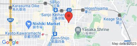 地図 中村光江 能面教室