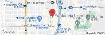 地図 ANGLOBAL SHOP 京都