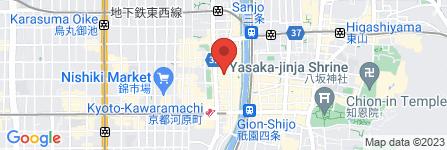 地図 THE VR ROOM KYOTO