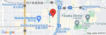地図 ラーメン大中 BAL横店