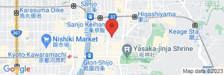 地図 日本料理 竹内