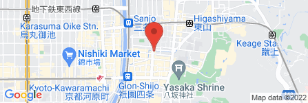 地図 JAZZ LIVE CANDY
