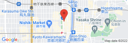 地図 The Next  Kawaramachi