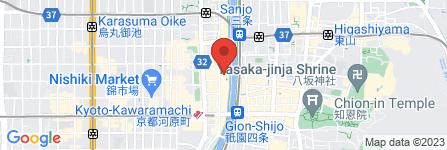 地図 河道屋 銀華