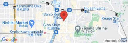 地図 カフェ・ギャラリー フク和ウチ