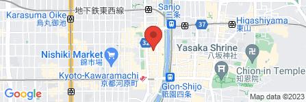 地図 ぼてぢゅう 京都店