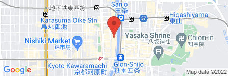地図 京酒場 箱屋