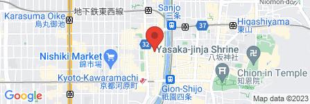 地図 freator – フレアトール – 木屋町本店