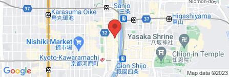 地図 京都拉- 信長 木屋町店