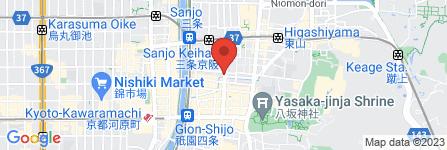 地図 梶原時計店