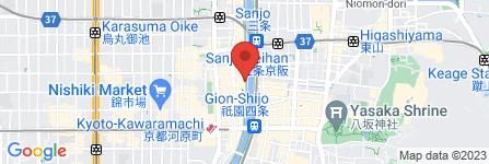 地図 京フレンチ きしもと