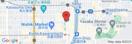 地図 将月  河原町店