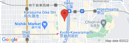 地図 天ぷら  天力