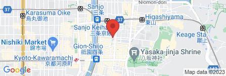 地図 旅館 富乃井