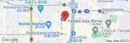 地図 京都BAL