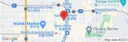 地図 茶香房 長竹