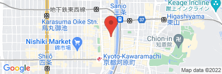 地図 鳥貴族 木屋町通店