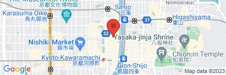 地図 ばちや 木屋町店