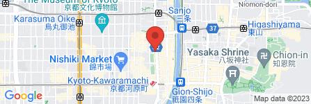 地図 チファジャ 四条河原町店