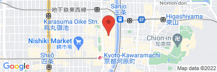 地図 Bar Poupee