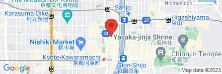 地図 覚王 木屋町亭