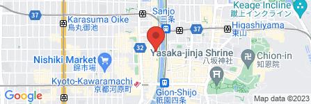 地図 先斗町ガールズバーCO.