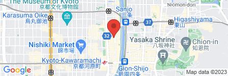 地図 ジョイサウンド 木屋町