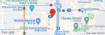 地図 ミニストップ 京都木屋町店