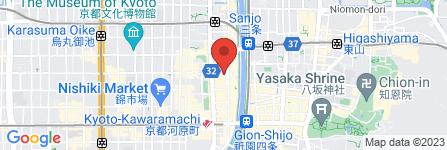 地図 タナカコーヒ 河原町店