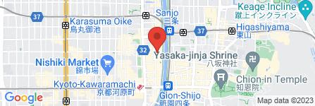 地図 先斗町駿河屋